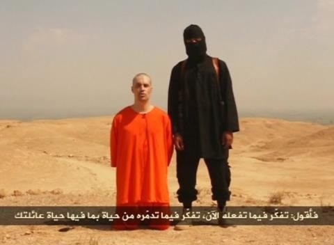 News video: Islamic State Says Beheads U.S. Journalist, Holds Another